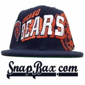 Image of Vintage Deadstock Chicago Bears Sports Specialties Grid Snapback Cap