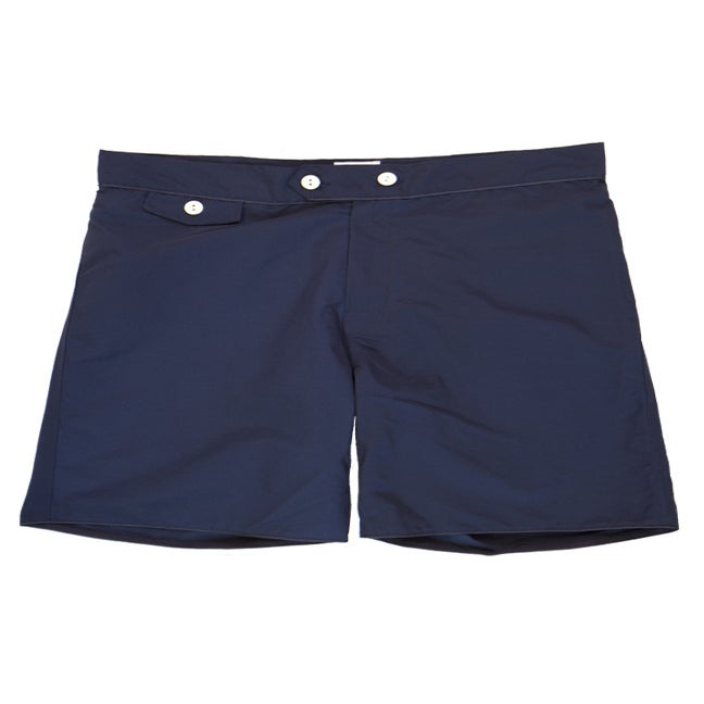 Image of Navy Blue Swim Trunks