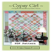 Image of PDF Gypsy Girl Pattern