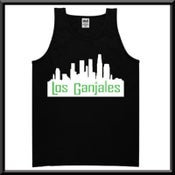 Image of Black Mens Los Ganjales Tank