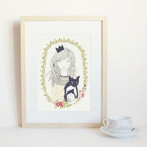 Image of Print gato