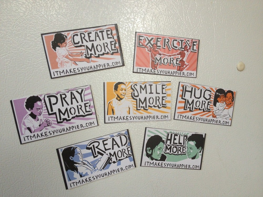 Image of Refrigerator Magnets (7 pack)