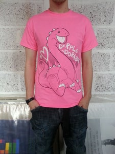 Image of DERPLODORABLE TEE - POWER PINK
