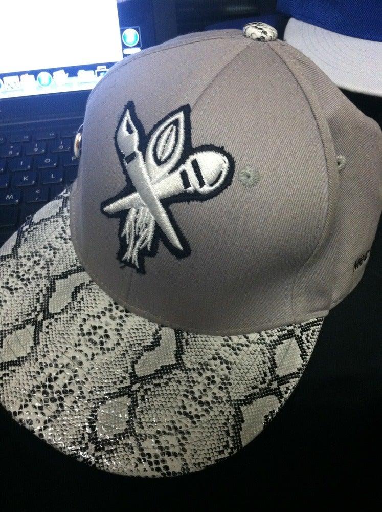 Image of Hat-Snakeskin bill