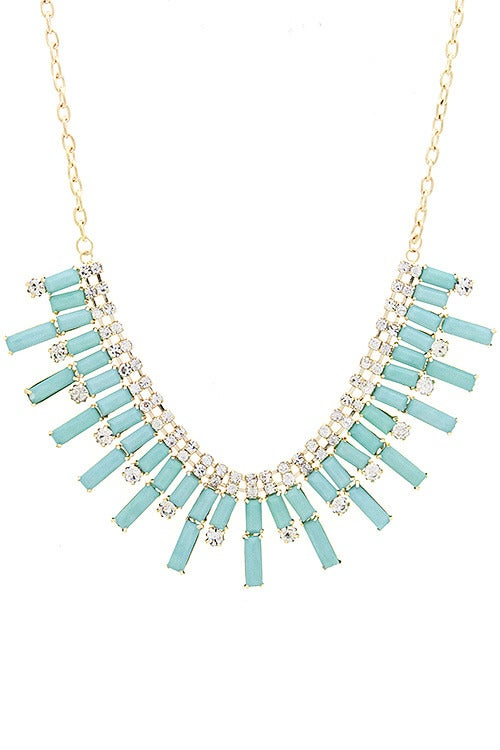Image of Claire Tab Necklace