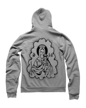 Image of MIR245 PRAY FOR US ANGELS Hoodie (7 COLORS)