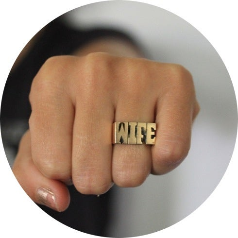 Image of ID RING /// WIFE