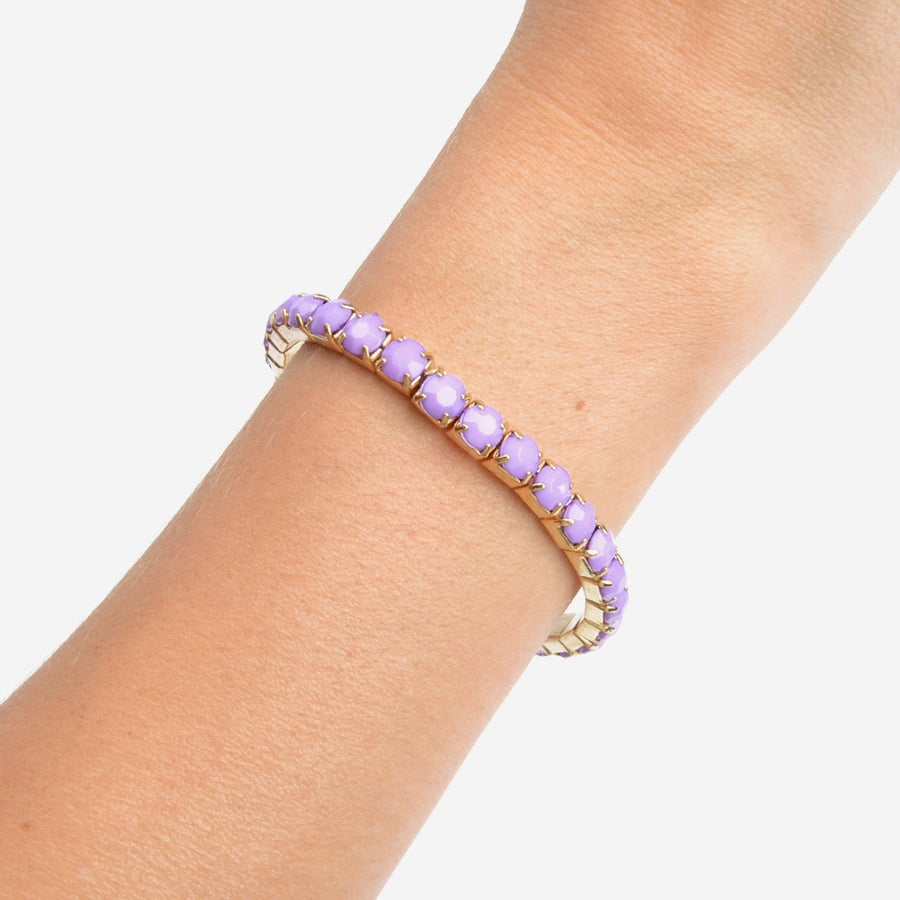 Image of Lavender Gem Bracelet