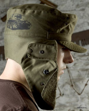 Image of SH55 [WINTER COMMANDO] Cold Weather Convertible Army Hat