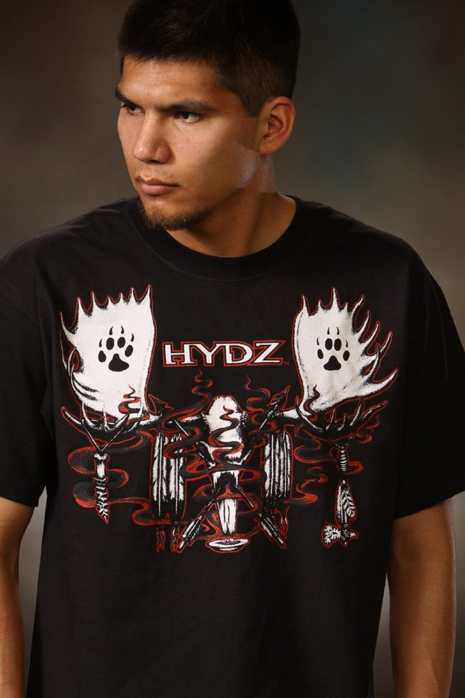 Image of Moose Skull / Shirt - Black