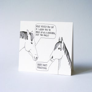 Image of Unicorn // Greeting Card
