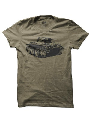 Image of SH09 [PANZERKNACKER] Military Surplus T-Shirt