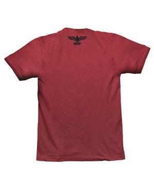 Image of SH114 [FLYING SKULL CHAIN] Military Surplus T-Shirt