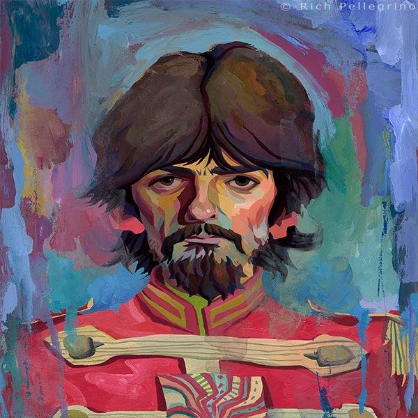 Image of Sgt. George Original Painting
