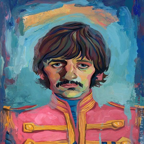 Image of Sgt. Ringo Original Painting