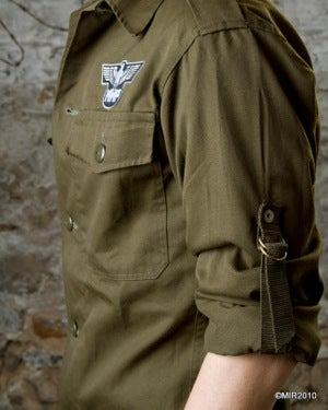 Image of SH39 [DIVISION 1] Vintage Miltary BDU Shirt - SHIPS FREE TO US and CANADA