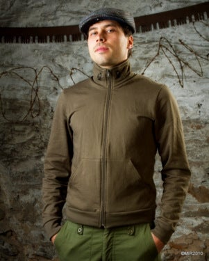 Image of SH43 [PANZERKNACKER 2] Army Zip-Up Jacket - SHIPS FREE TO US and CANADA
