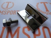Image of Trimsport VW Golf Scirocco Mk1 Polished Battery Clamp