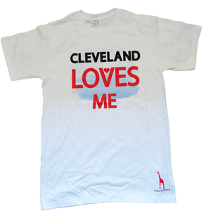 Image of Cleveland Loves Me (White)