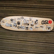 Image of Oslo Skateboard Deck