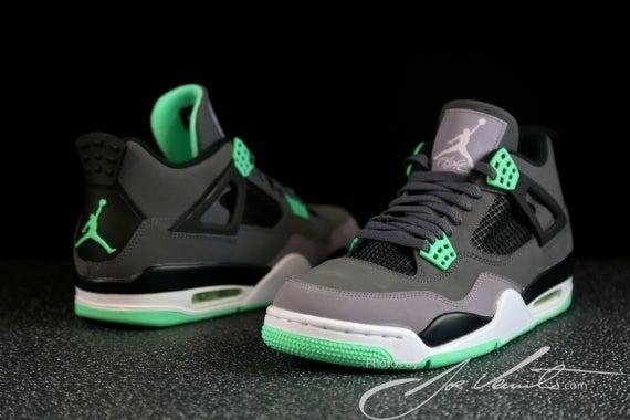 """Image of Air Jordan 4 """"Green Glow"""" Pre-Order"""