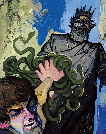 Image of Medusa's Stony Stare 5