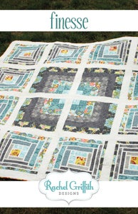 Image of finesse quilt pattern #111 (PDF VERSION)