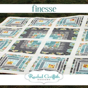 Image of finesse quilt pattern #111