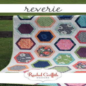 Image of reverie quilt pattern #112 (PDF VERSION)