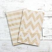 Image of Kraft Gusset Paper Bags