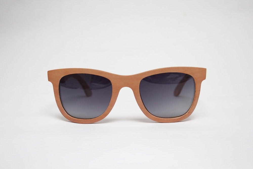 Image of DARK WOOD SUNGLASSES