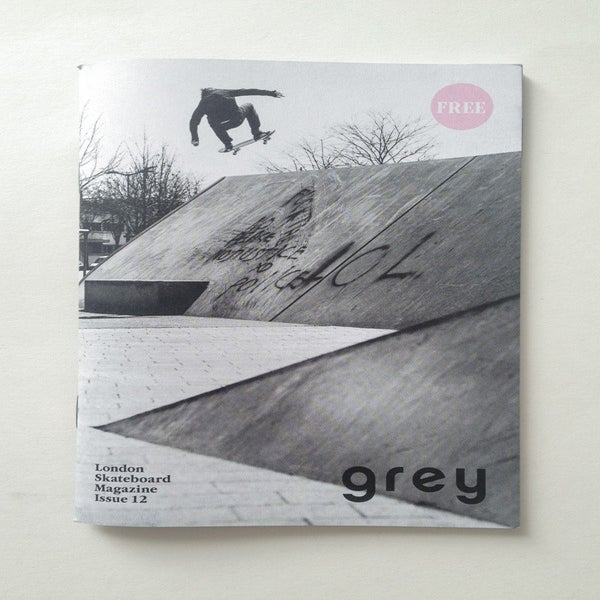 Image of grey skate mag issue 12
