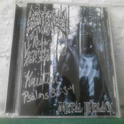 Image of LIMITED AUTOGRAPHED METAL UNBLACK by CHRISTAGEDDON