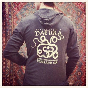 "Image of Men's ""Snake Metal"" Datura Jersey Hoody"