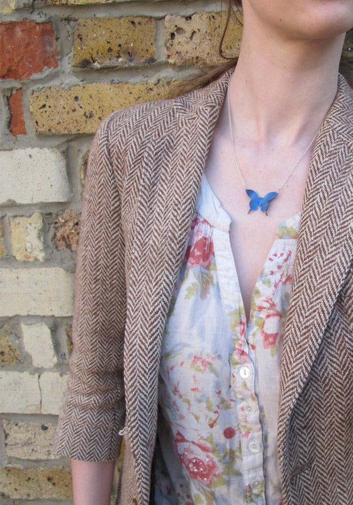 Image of Springtime Butterfly pendant