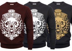 Image of NEW! Wolves crew neck sweater