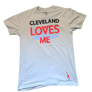 Image of Cleveland Loves Me (New Silver)