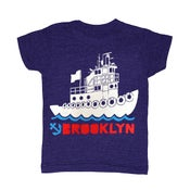 Image of BK Tugboat | KIDS TEE