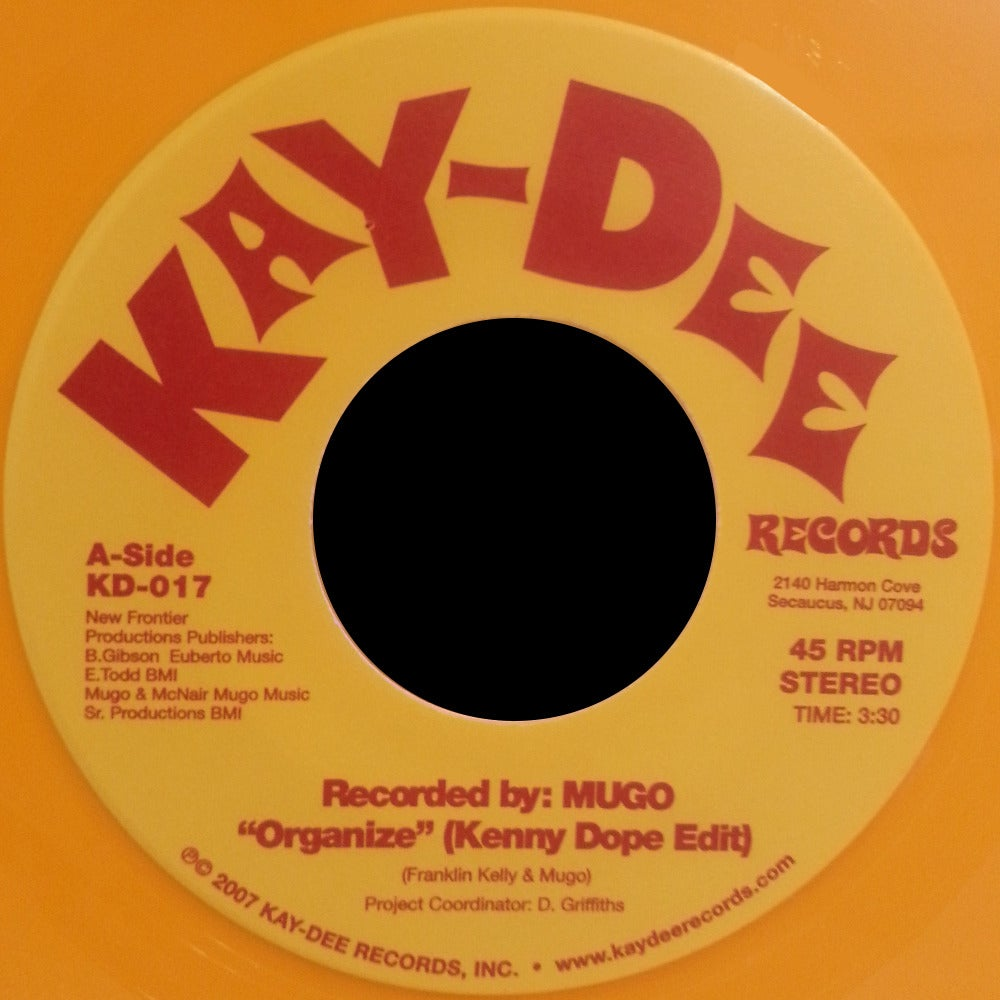 Image of KD-017 MUGO ORGANIZE LTD ED