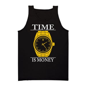 Image of Time Is Money Tank (Black)