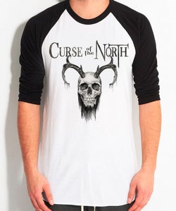 Image of Bearded Skull BaseBall Shirt