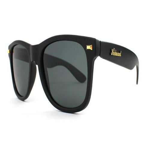 Image of MATTE BLACK SMOKE FORT KNOCKS (POLARIZED)