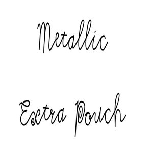 Image of Metallic Extra Pouch