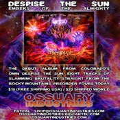 "Image of DESPISE THE SUN ""EMBERS OF THE ALMIGHTY"""