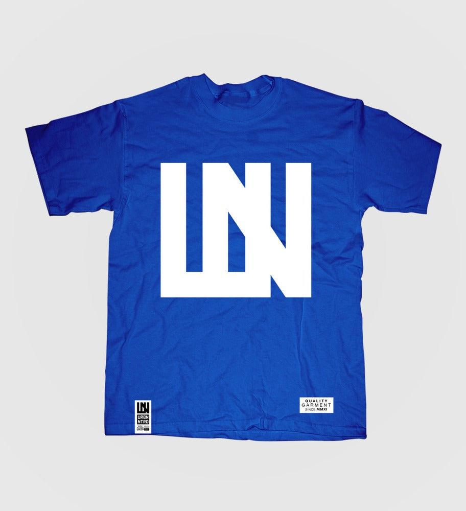 Image of Logo T-Shirt (Blue)