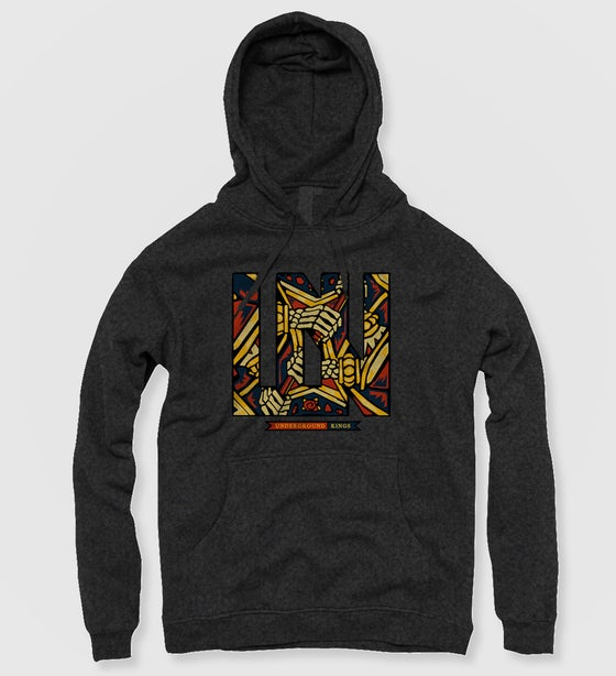 Image of Underground Kings Hoodie (Heather Grey)