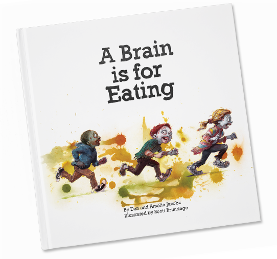 Image of Pre-Order Hardcover Edition of A Brain is for Eating