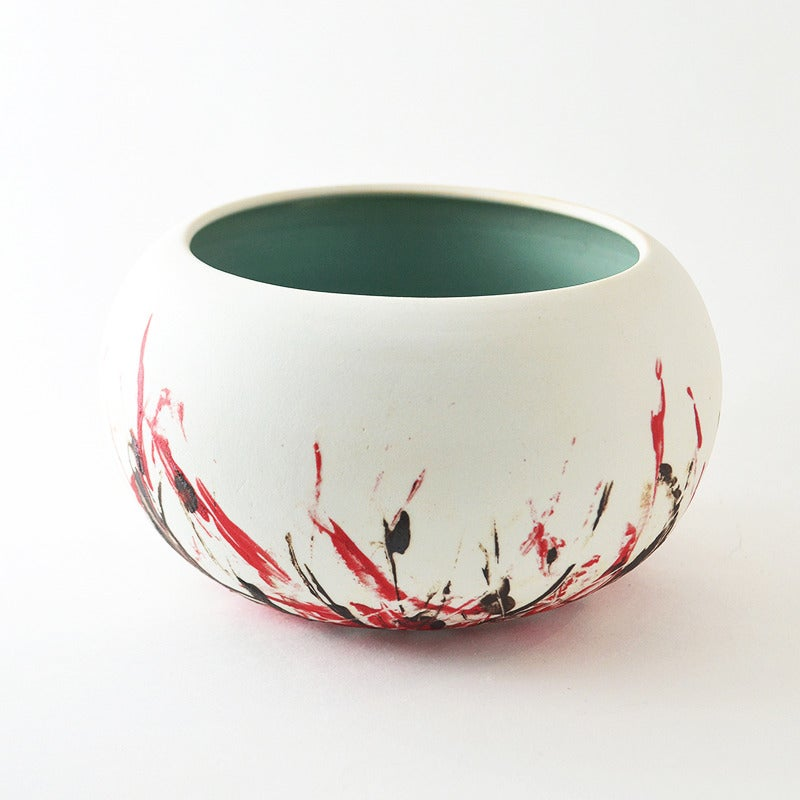 Image of round porcelain bowl