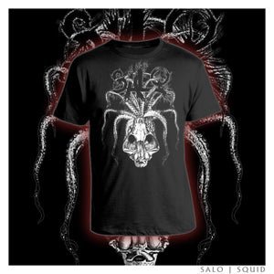 Image of Squid skull shirt - Shipping Included