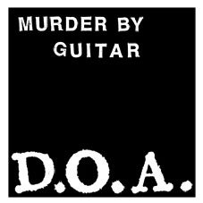 """Image of Murder By Guitar """"D.O.A."""" 7"""" EP"""